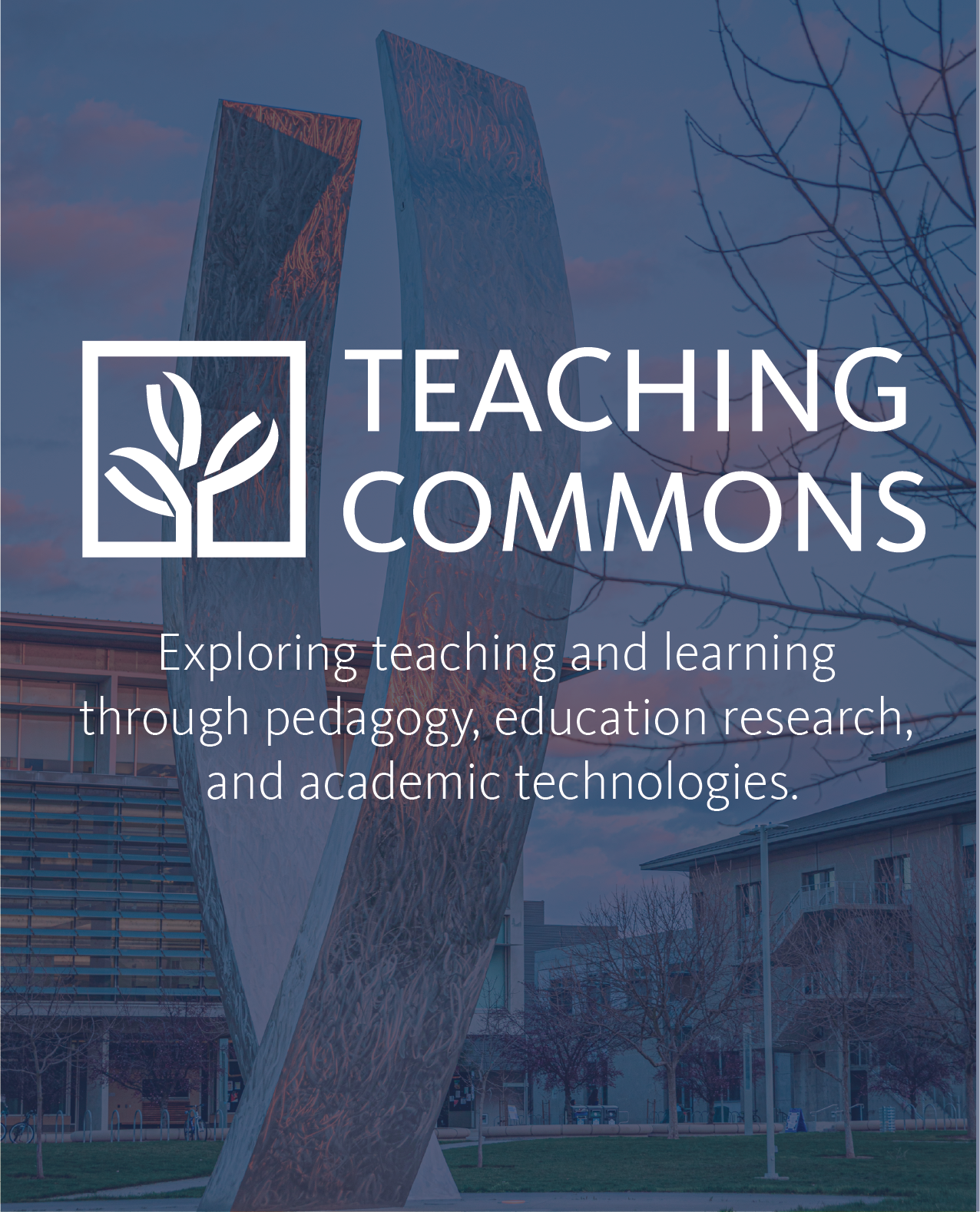 teaching commons header image